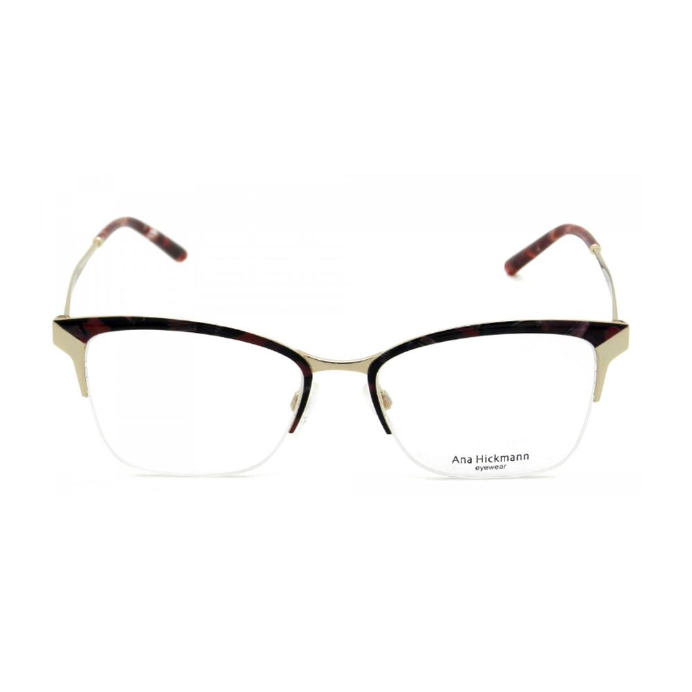 Armação Ana Hickmann AH1353 04A 52-17 145   Ótica Líder - Óculos de Grau e  Óculos de Sol - Produtos Originais 10cc06e650