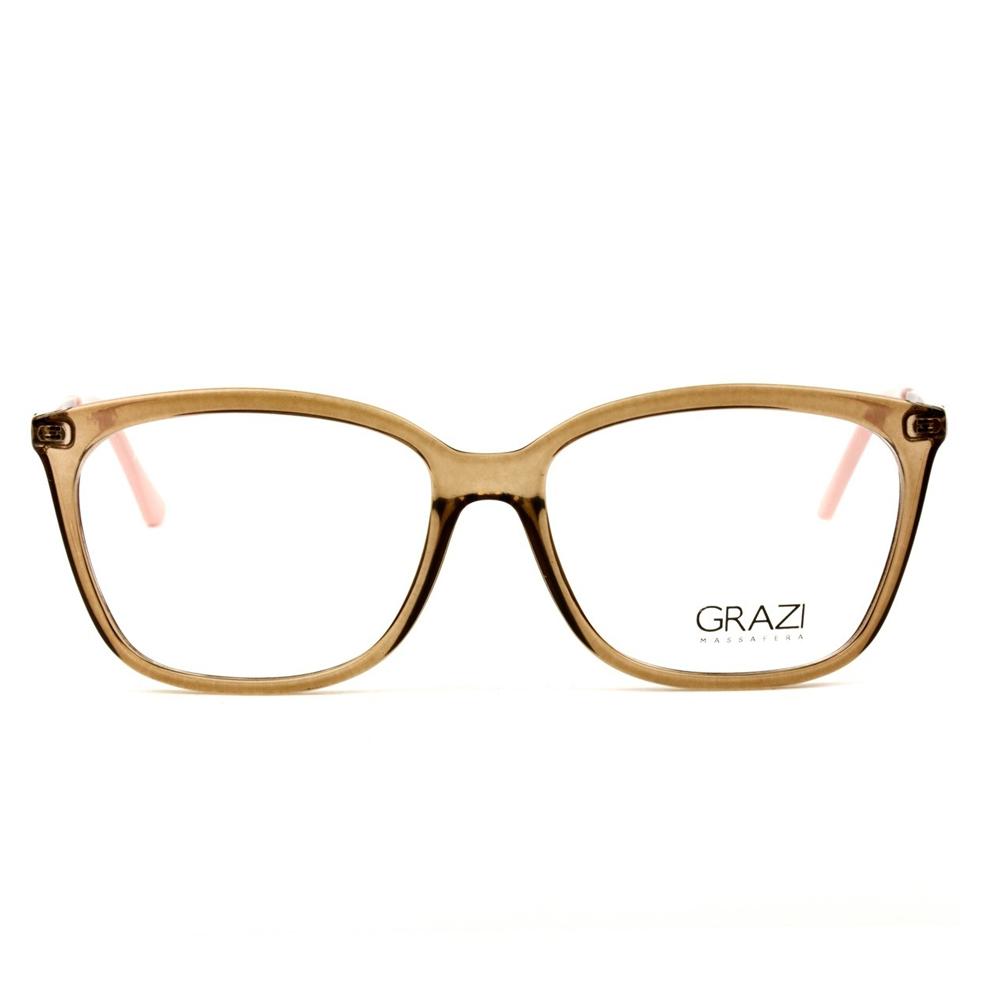 Armação GRAZI GZ 3016 D830 53-15 140   Ótica Líder - Óculos de Grau ... 542abe067e