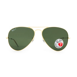 Óculos Solar Ray-Ban RB3025l Aviador Large Metal 001/58 62-14 3P