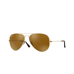ÓCULOS SOLAR RAY-BAN RB3025L AVIADOR LARGE METAL 001/57 58-14 135 3P