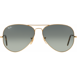 ÓCULOS SOLAR RAY-BAN RB3025L AVIATOR LARGE METAL 181/71 62-14 3N