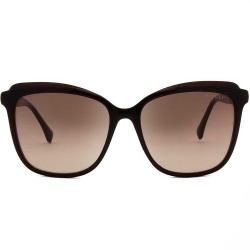 Óculos Solar BULGET BG9112I T01 Quadrado - Marrom 57-17 140