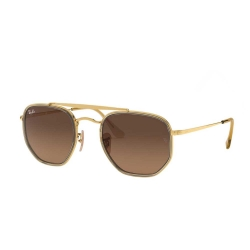 Óculos Solar Ray-Ban RB3648-M The Marshal II 9124/43 52-23 145 3N