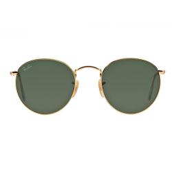 Óculos Ray-Ban RB3447L Round Metal 001 53-21 145 3N