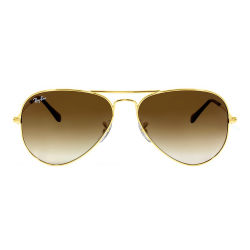 Óculos Solar Ray-Ban RB3025L Aviator Large 001/51 62-14 2N