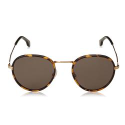 Óculos Solar CARRERA 151/S RHLIR Redondo - Marrom Dourado 52-21 145