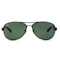 Óculos Solar Ray-Ban RB3525L 002/71  Aviador - Preto 59-14 3N