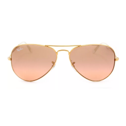 ÓCULOS SOLAR RAY-BAN RB3025L AVIATOR LARGE METAL 001/3E 58-14 2N